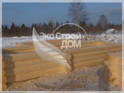 Ровные срубы из Костромы