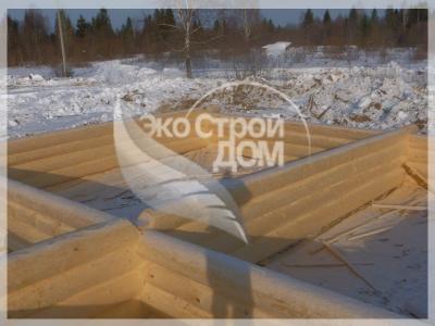 Зимние срубы из Костромы