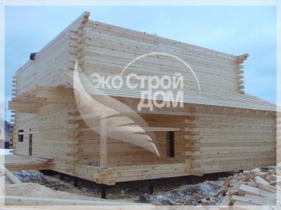 Строительство брусового дома