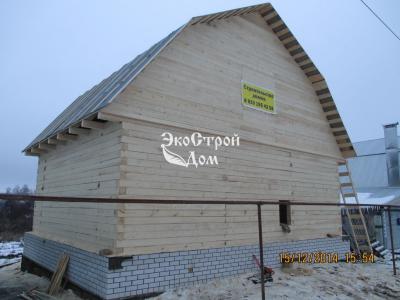 Дом из бруса 7х9 в Нижнем Новгороде