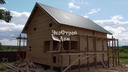 Строительство дома в Клину
