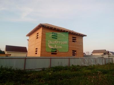 Дом почти готов, общий вид