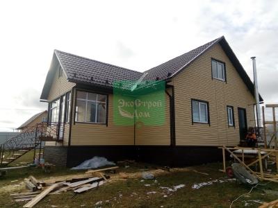 Облицовка деревянного дома сайдингом