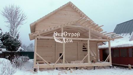 Дом из профилированного бруса в Троицке