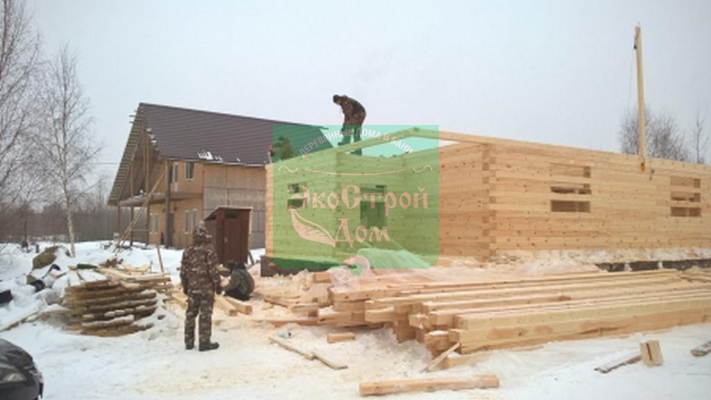 Работы по строительству стен