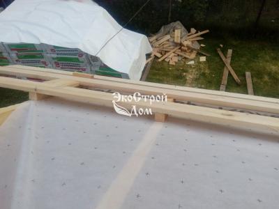 Подготовка к покрытию крыши металлочерепицей