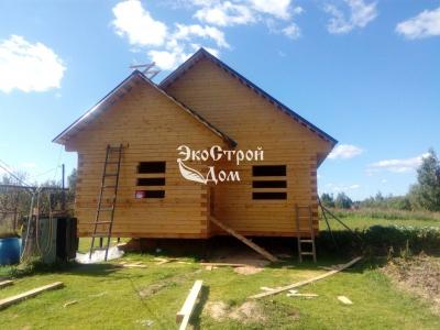 Готовый дом из профилированного бруса в Сергиевом Посаде